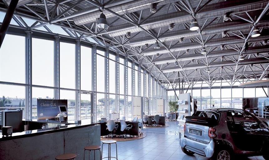 Sede centrale concessionaria Mercedes Benz